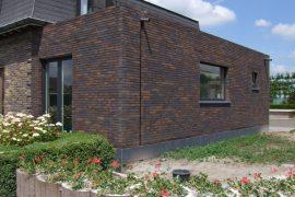 2015 Uitbreiding keuken houtskelet aan bestaande woning