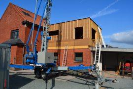 Houtskeletbovenbouw op bestaande woning 2019